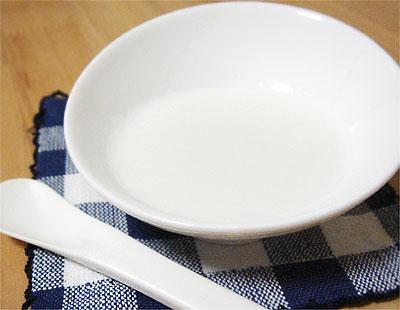 【離乳食初期】10倍がゆ3回目