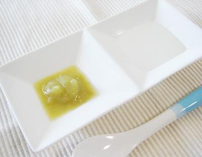 【離乳食初期】10倍がゆとサツマイモのマッシュ