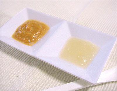 【離乳食初期】ニンジンとサツマイモのミルク煮/ジャガイモのマッシュ