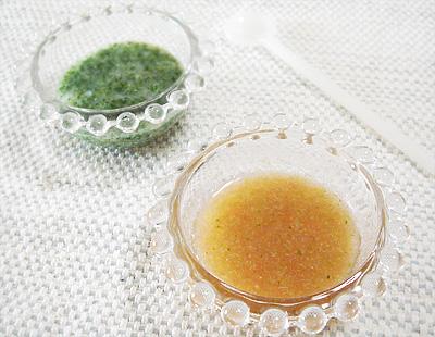 【離乳食初期】グリーンがゆ/ブロッコリーのトマトスープ風