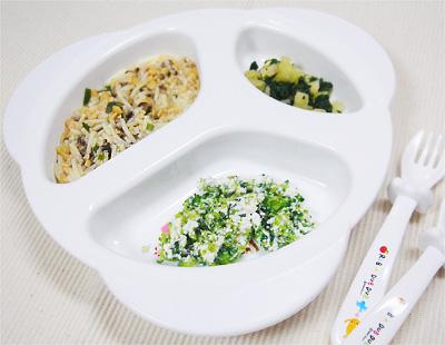 【離乳食後期】納豆とキノコの和風パスタ/ブロッコリーのチーズサラダ/リンゴほうれん草