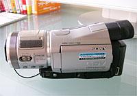 SONYデジタルハイビジョンハンディカム「HDR-HC1」