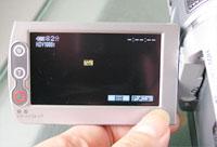 HDR-HC1 タッチパネル