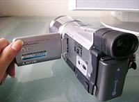 HDR-HC1液晶画面